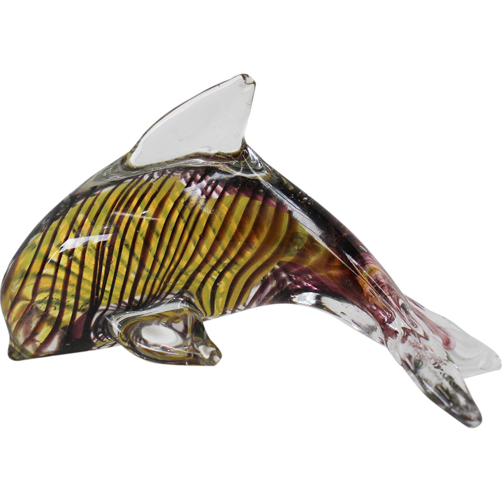 Glass Dolphin Dark