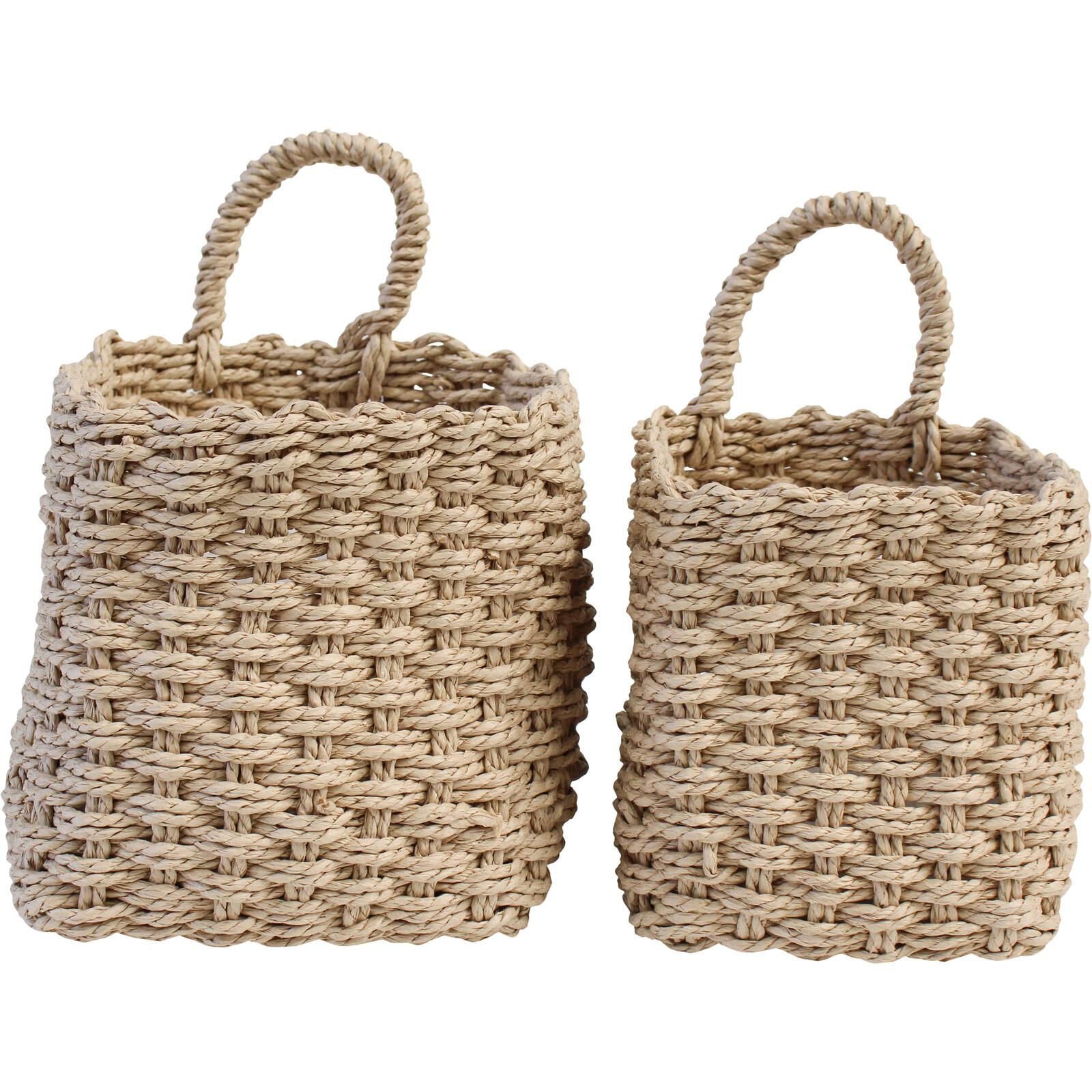 Tidy Basket Sq S/2 Bleach