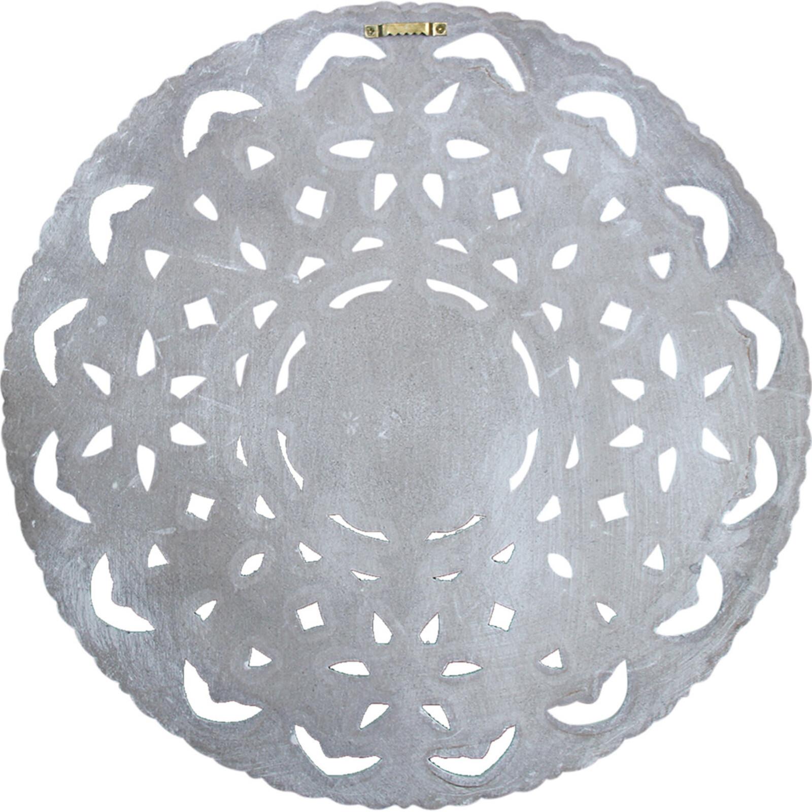 Wall Decor Mandala Grey Sml