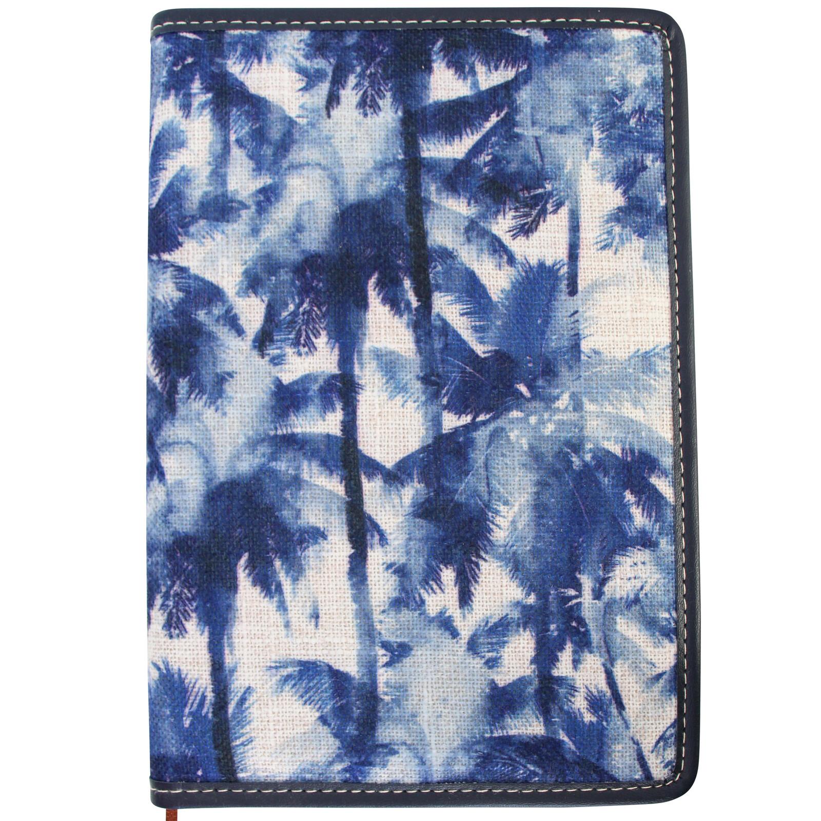 Notebook Sml Navy Palm