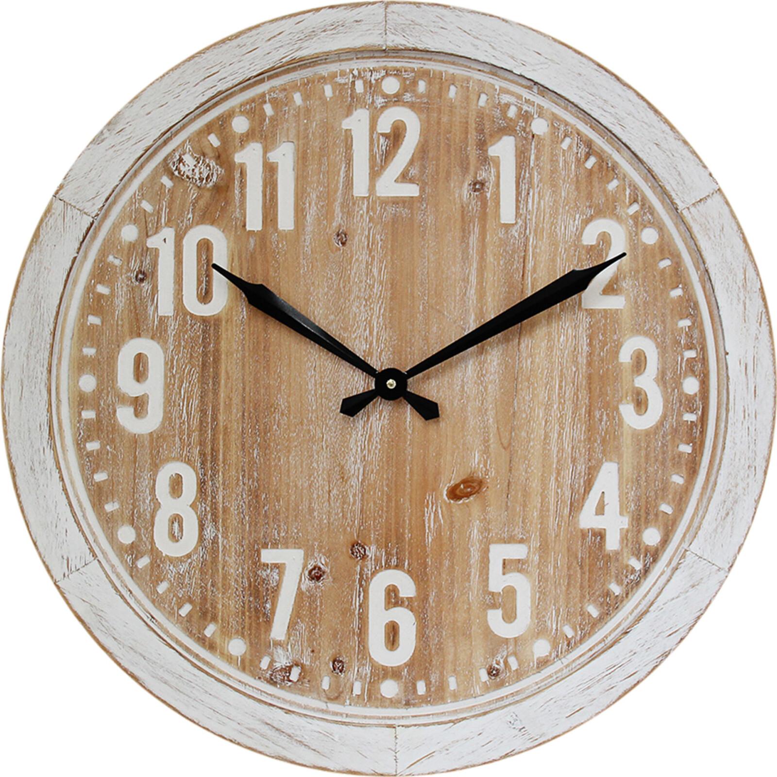 Clock Hamptons White 60cm