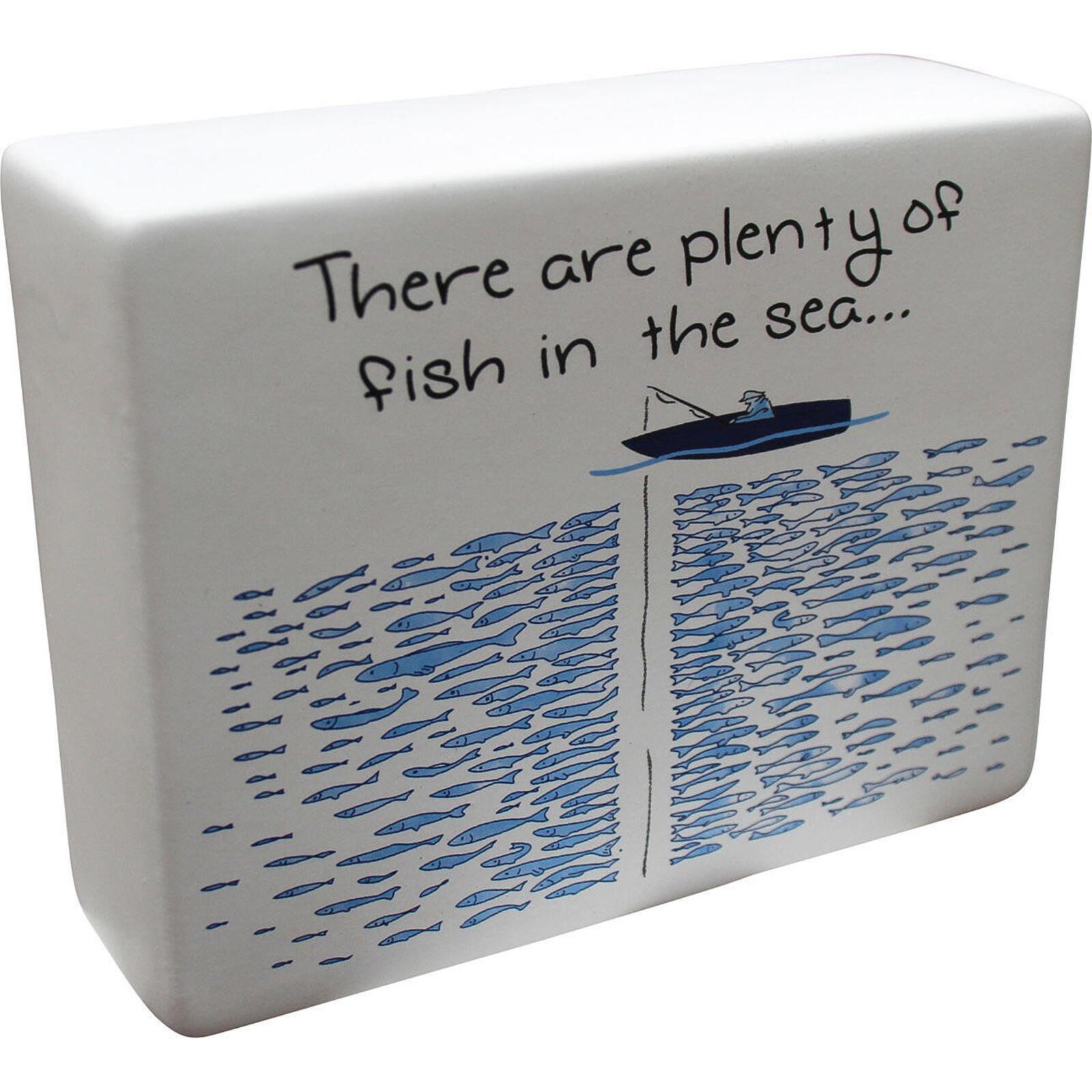 Ceramic Sign Fish in Sea