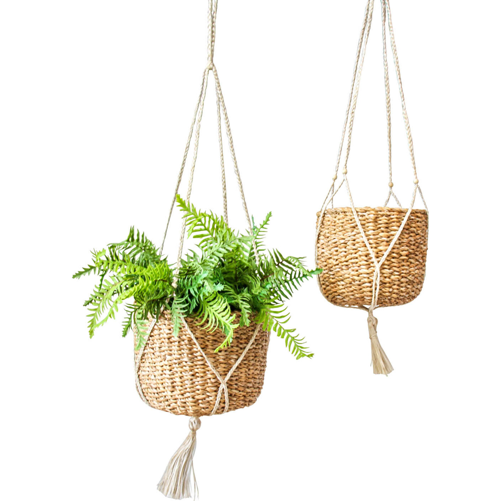 Seagrass S/2 Hanging Planter