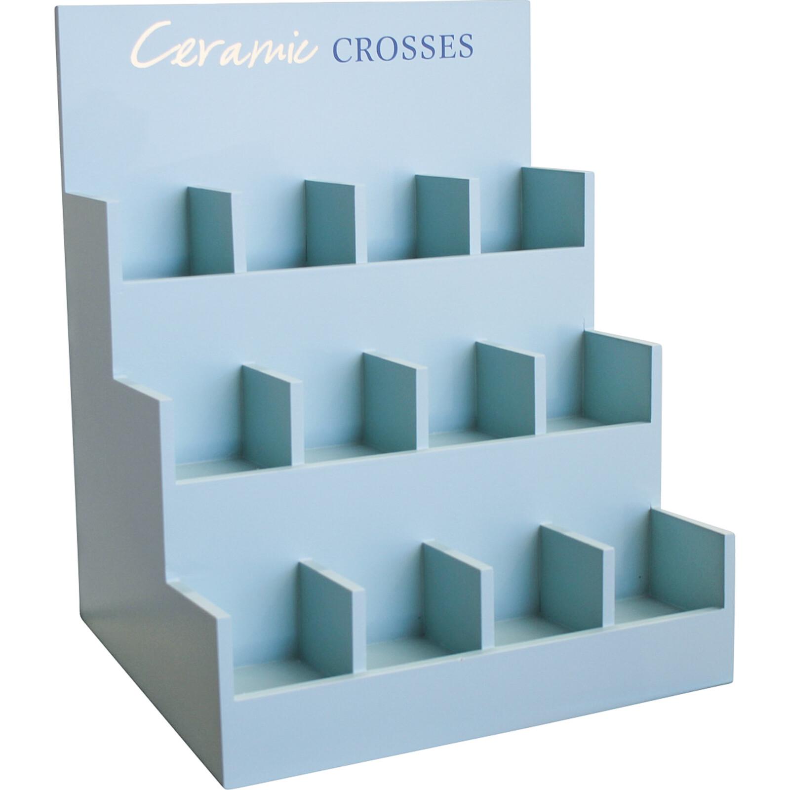 Display Box Ceramic Crosses