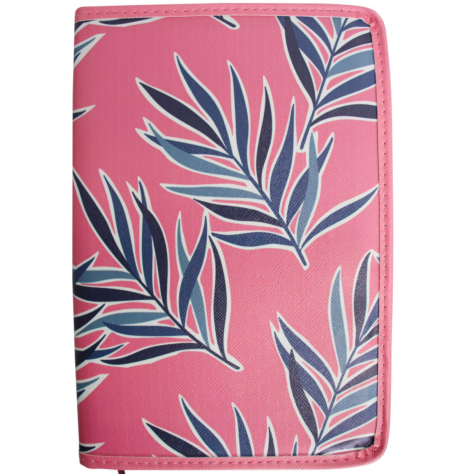 Notebook Sml Pink Ferns