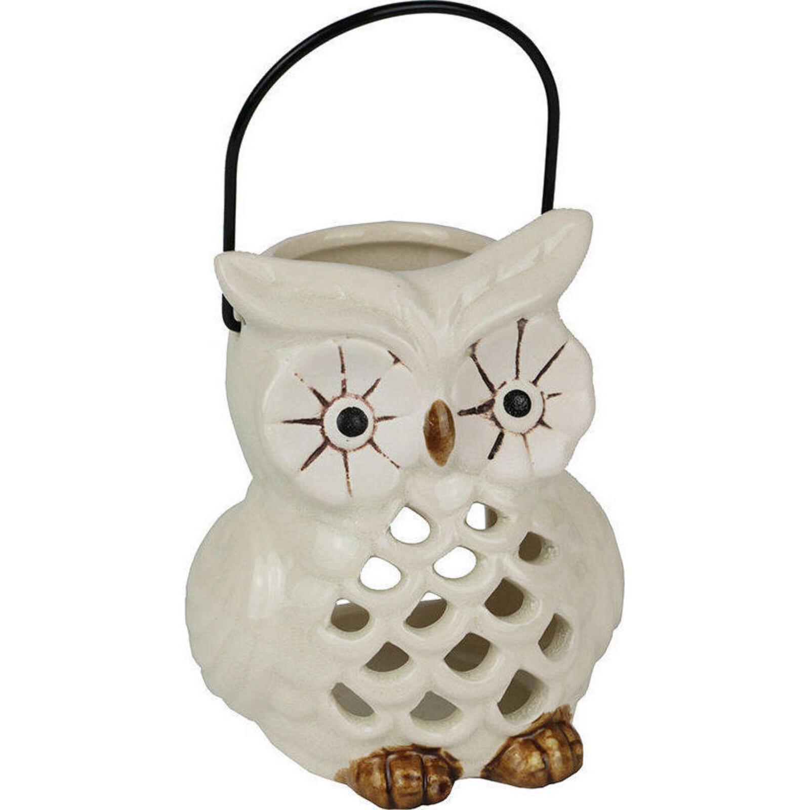 Votive Owl White