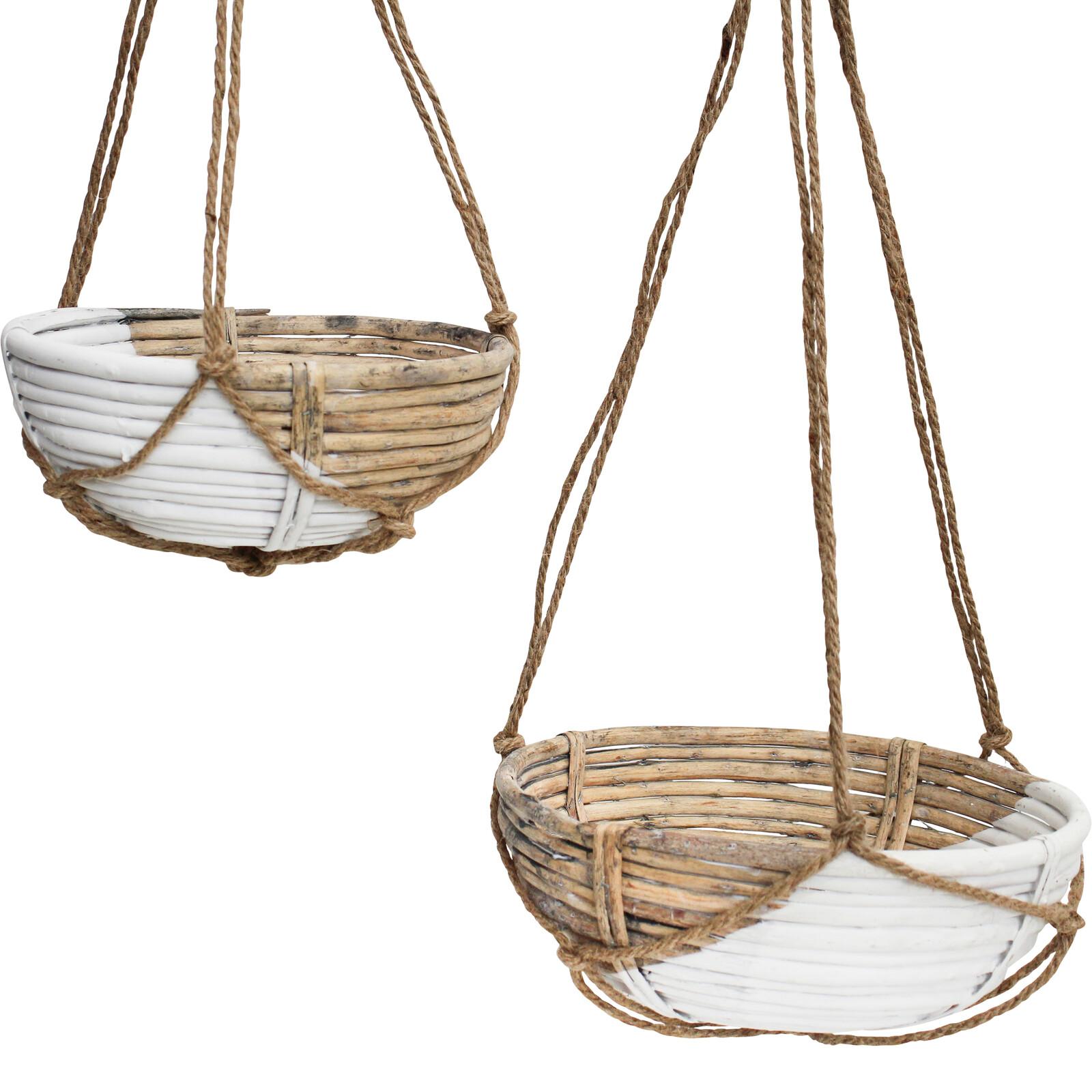Hanging Planter Willow S/2