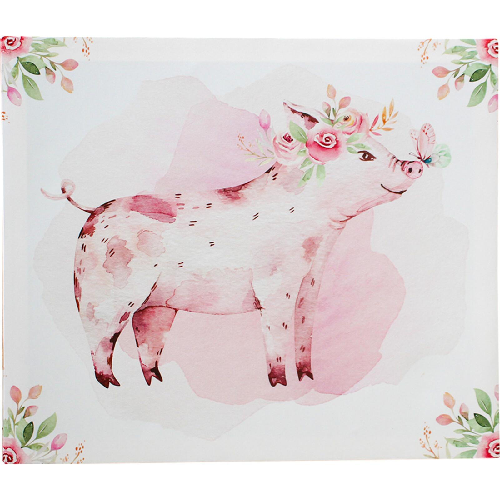 Canvas Cute Piggie