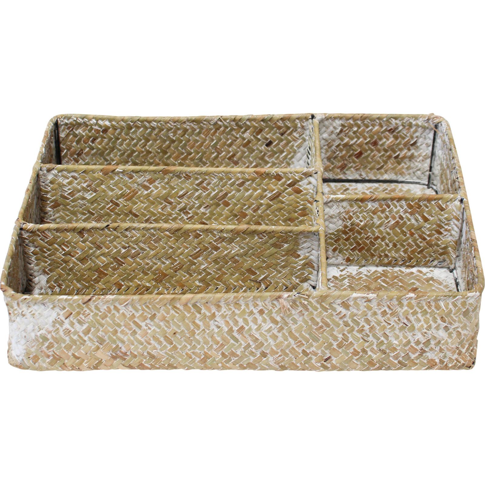 Woven Cutlery  Basket