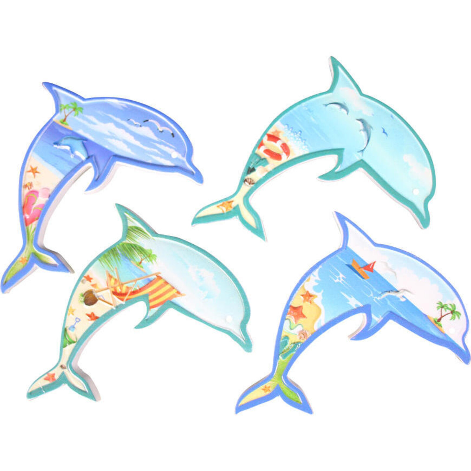 Magnets Dolphin 12 Assorted