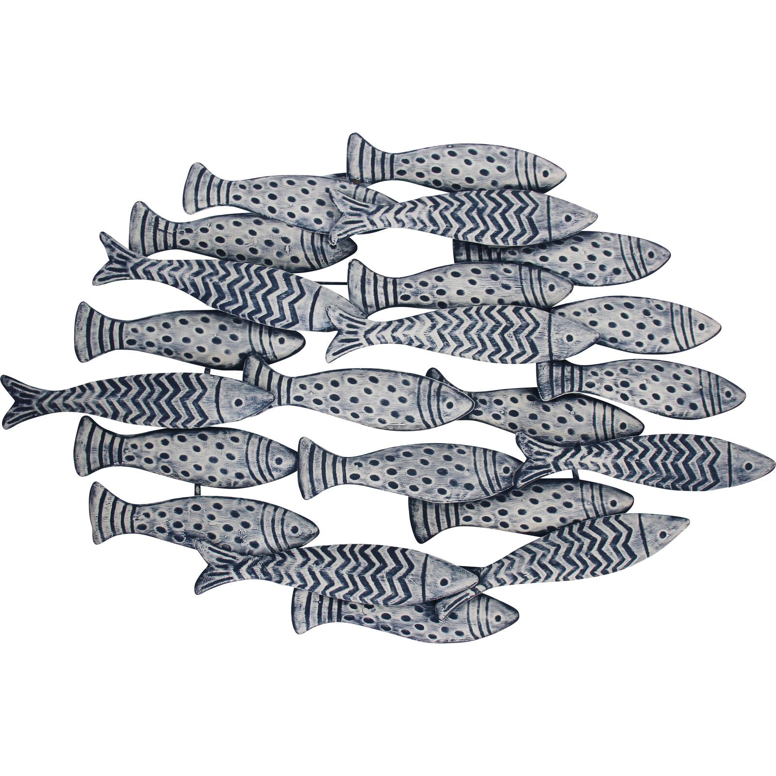 Wall Decor Fish School