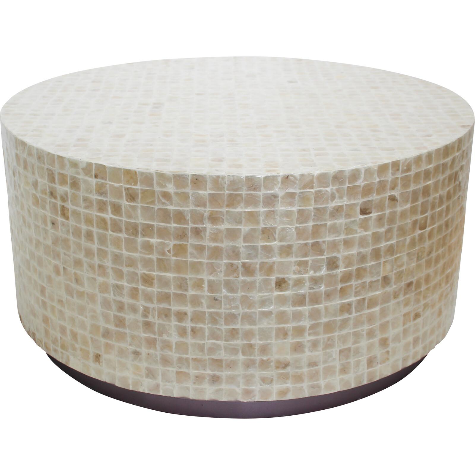 Coffee Table Capiz/ Base