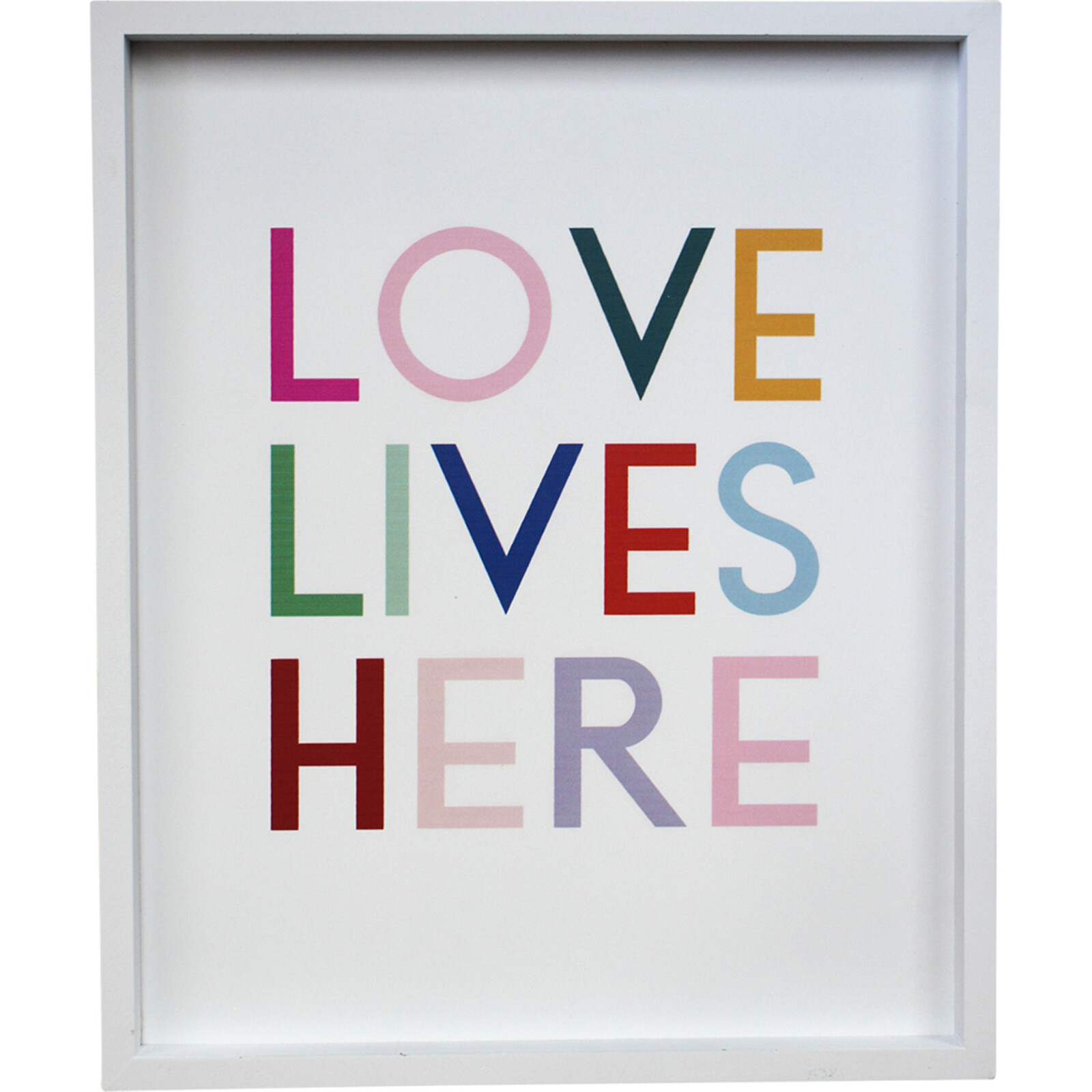Sign Love Lives Here