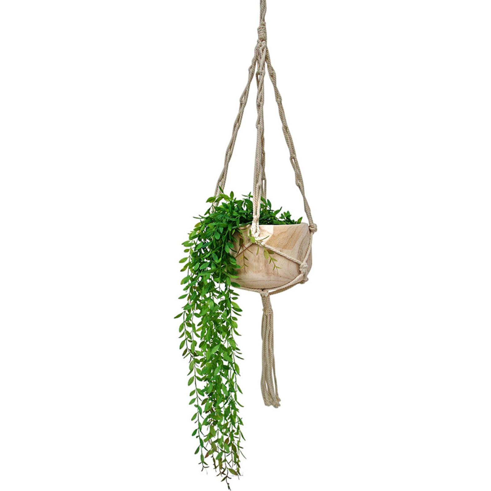Hanging Macrame Bowl Twist
