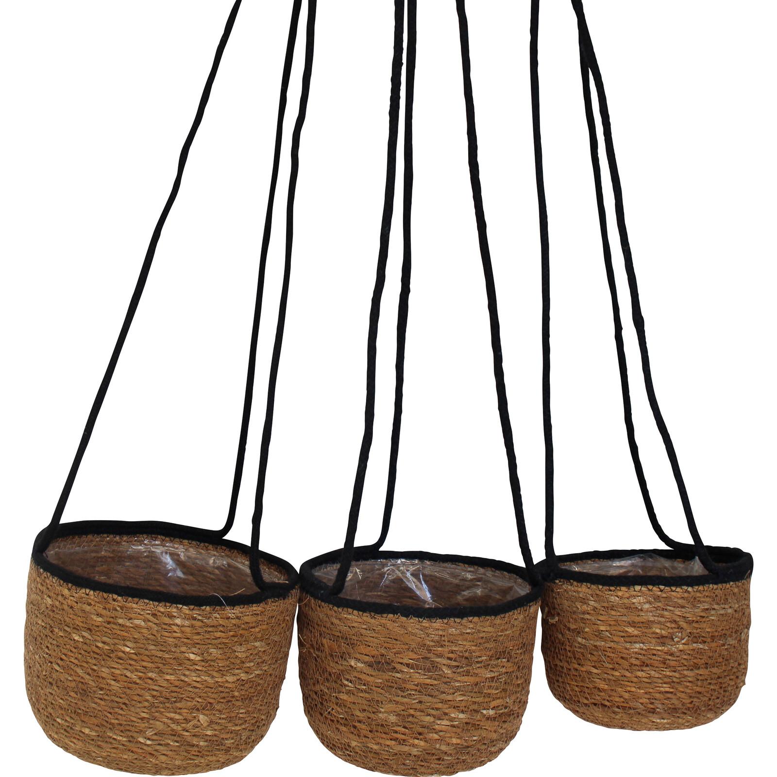 Basket Hanging Tub S/3