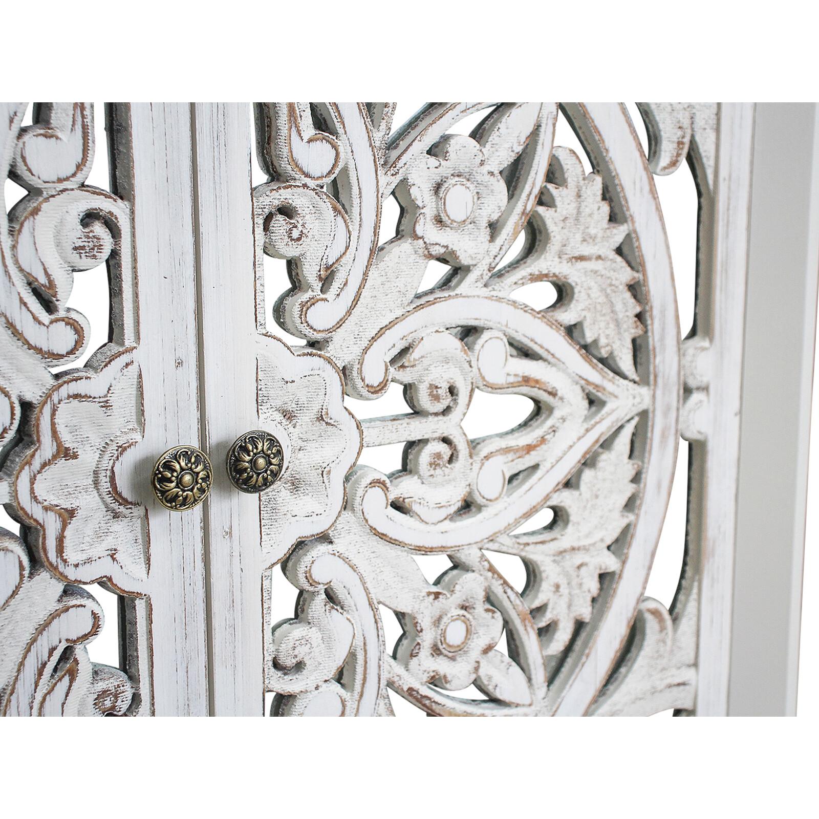 # Cabinet Wood Carve 2 Door