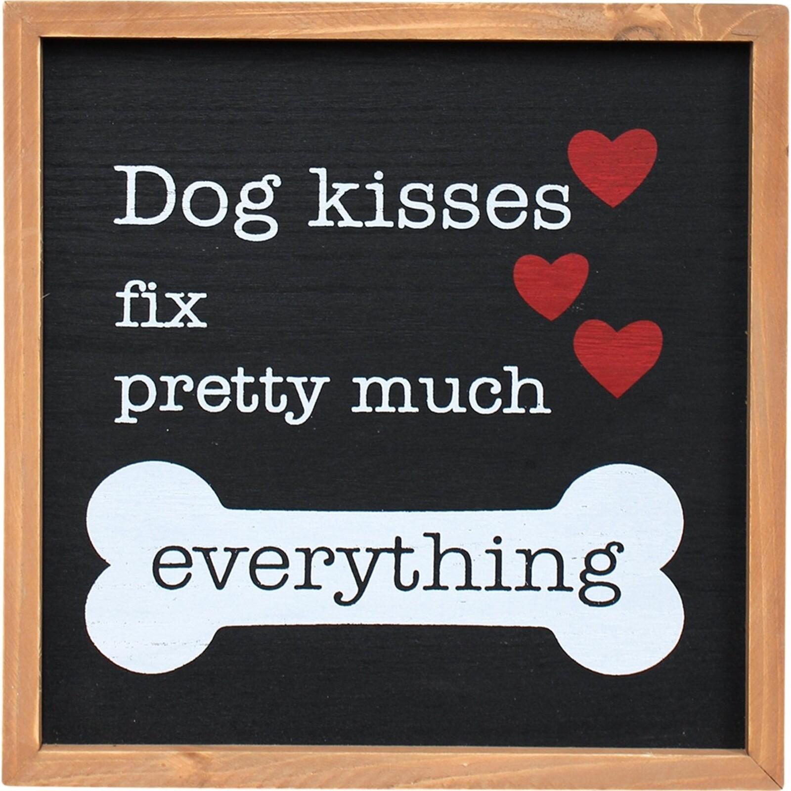 Sign Dog Kisses