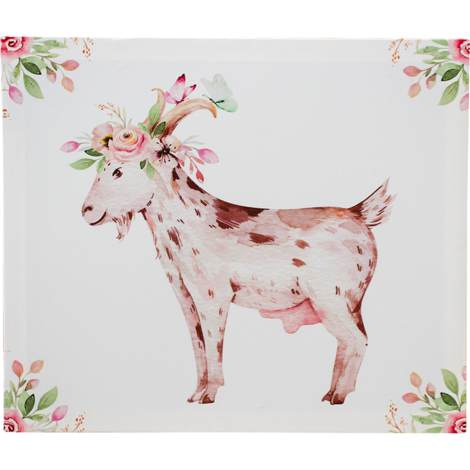 Canvas Cute Goat