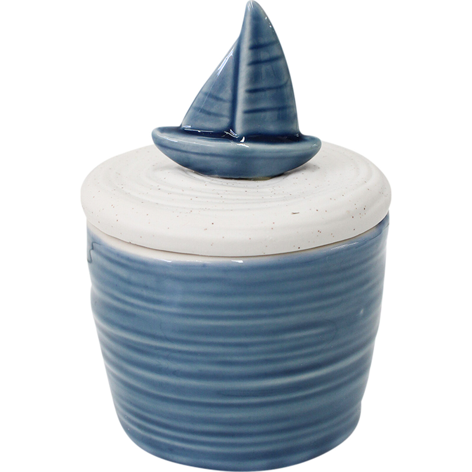 Candle w/ Lid Boat