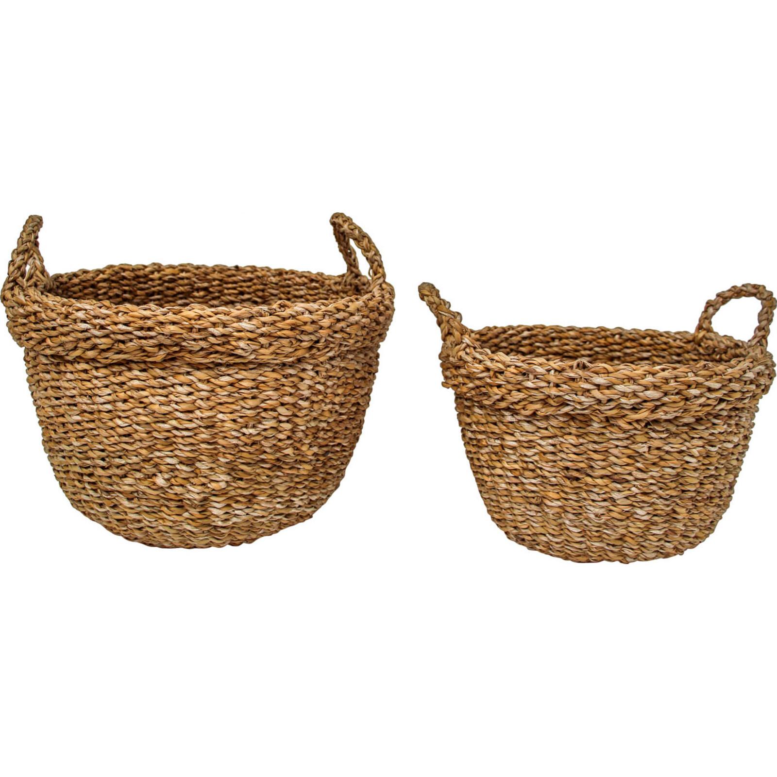Seagrass S/2 Tub Basket Fold