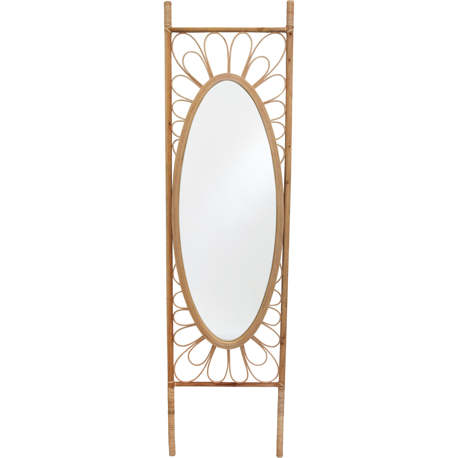 #Floor Mirror Leaning Natural