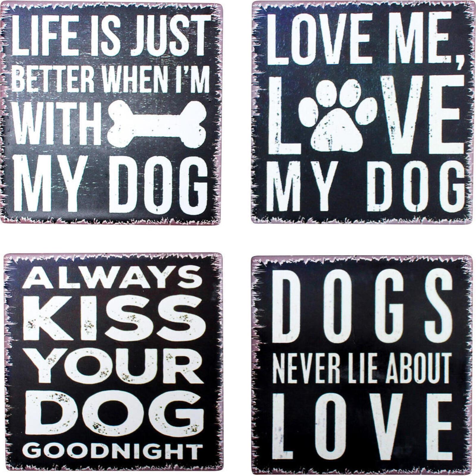 Coaster Dog Sayings