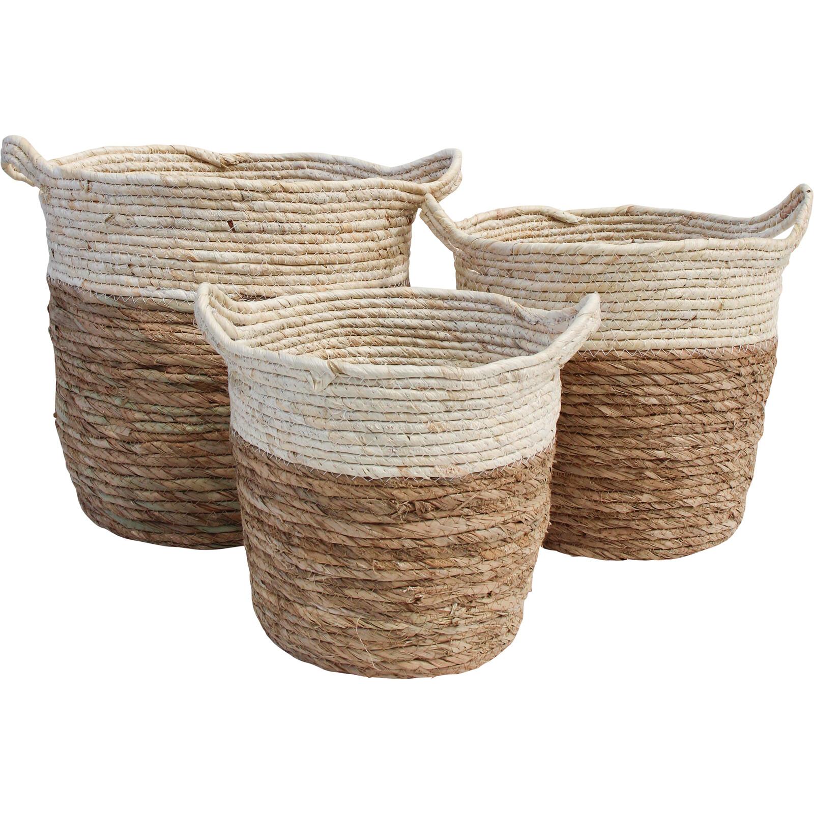 Basket/Planter Trim Top S/3