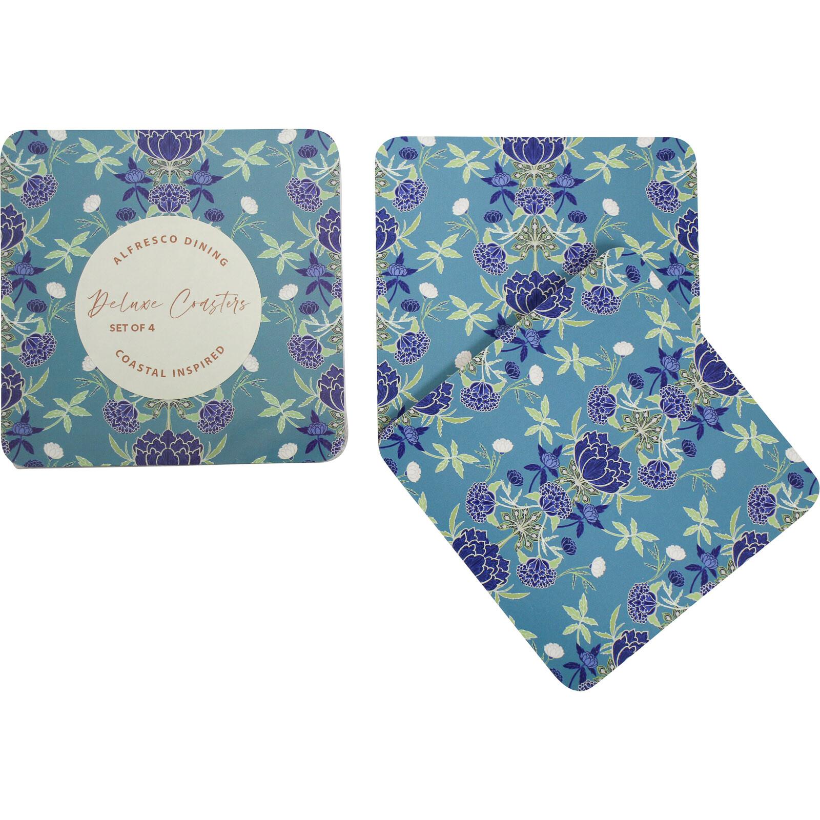 Coaster WilliamMorrisBohemian Floral S/4