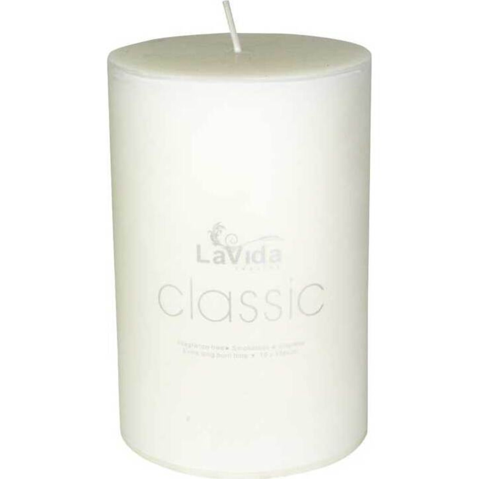 Classic Candle 10x15cm